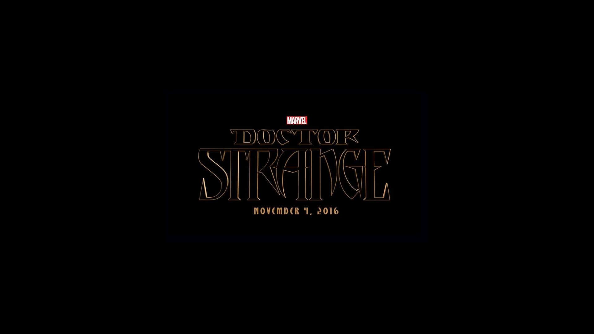 Doctor Strange 2016 Movie Logo Wallpaper Controlceta